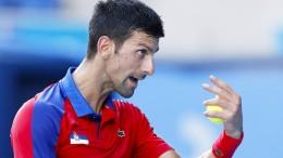Djokovic verliert Fassung und Spiel um Bronze