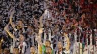 Konfettiregen in Rom: Juventus Turin ist Pokalsieger
