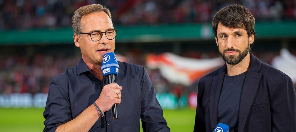 Christoph Metzelder Und Thomas Broich Fussball Experten In Ard