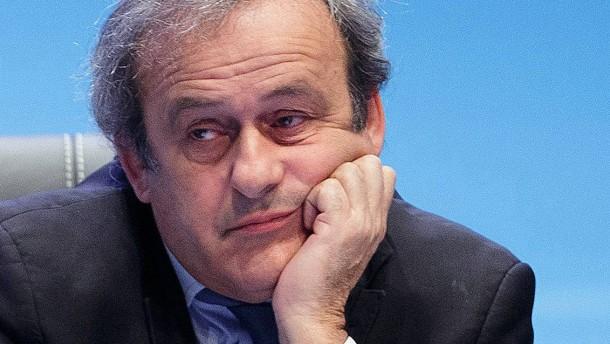 Uefa glaubt nicht mehr an Platini
