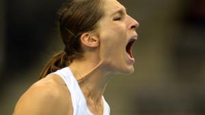 Petkovic gewinnt Tennis-Krimi