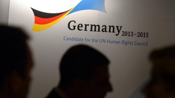 Deutschland bewarb sich um einen Platz im UN-Menschenrechtsrat - und wurde gewählt