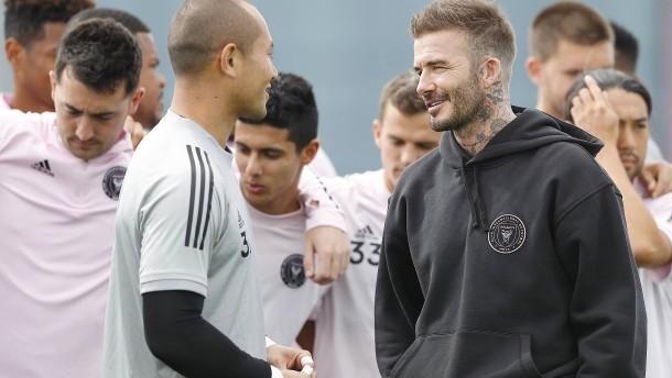 Die vielen Probleme des David Beckham