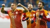 Gala von Podolski für Galatasaray