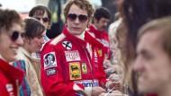 "Niki Lauda alias Daniel Brühl im Kinofilm ""Rush"""
