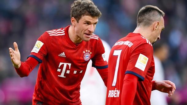 Müller nimmt Ribéry nach Ausraster in Schutz