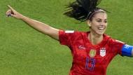 Alex Morgan und die Amerikanerinnen stehen im WM-Finale.