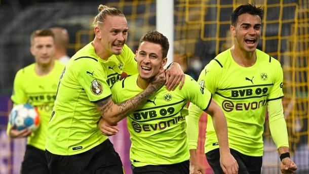 Hazard erlöst Borussia Dortmund