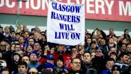 Das Hauptkapital der Rangers: Ihre treuen Fans - auch in der schottischen Provinz