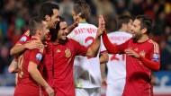 Spanien schießt sich für DFB-Elf warm