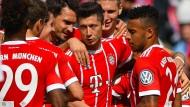 Müssen zu RB Leipzig: Robert Lewandowski und seine Bayern