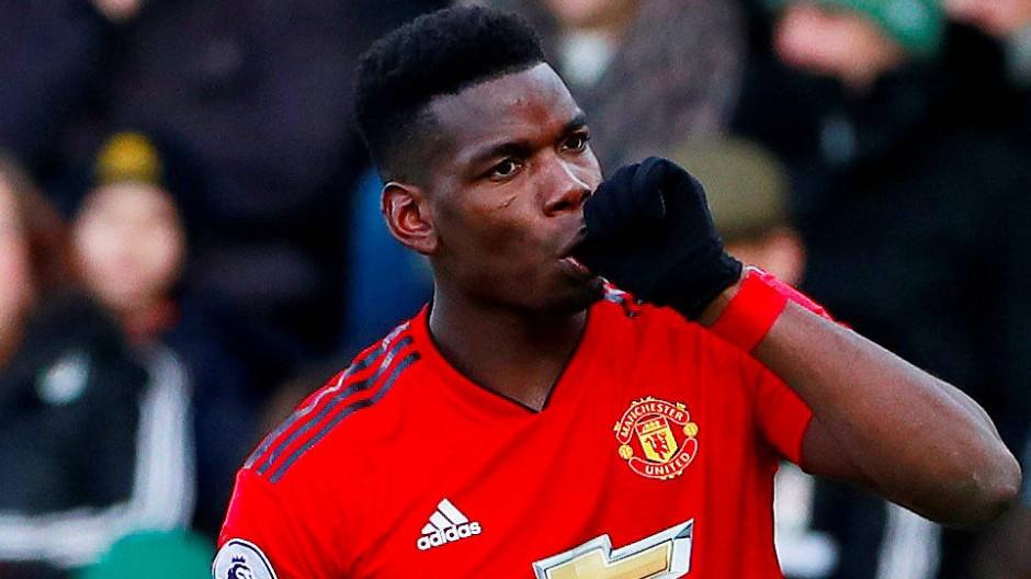 Nähert sich seiner früheren Form: Paul Pogba will mit Manchester United in der Champions League erfolgreich sein.