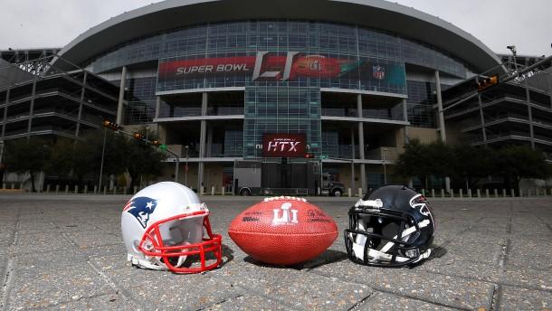 Die verrückten Zahlen zum Super Bowl