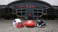 Beim Super Bowl in Houston geht es nicht nur um das Ei.