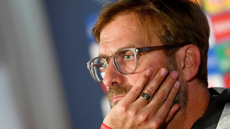 Vieles steht auf dem Spiel: Liverpool-Trainer Jürgen Klopp vor der entscheidenden Partie gegen Salzburg in der Champions League