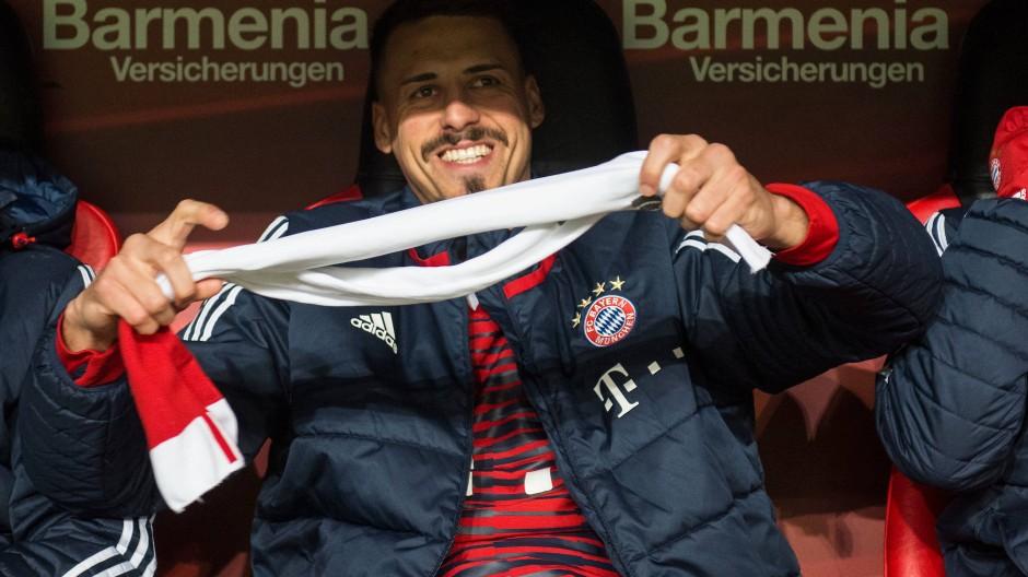 Anpfif auf der Bank: Sandro Wagner musste zunächst zuschauen