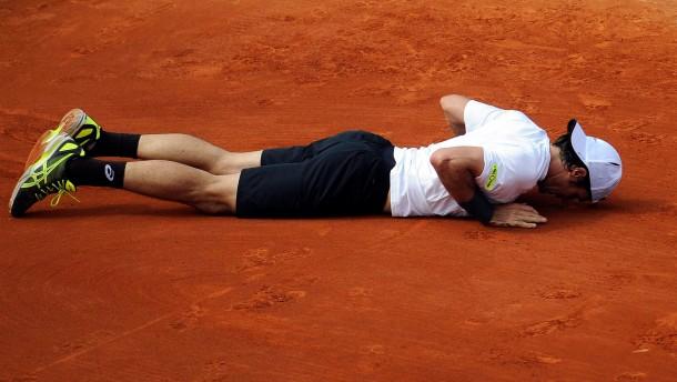 Haas findet seinen Meister in Djokovic