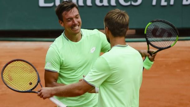 Krawietz und Mies erreichen das Halbfinale