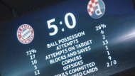 Klare Sache – nicht nur beim Ergebnis: Die Bayern besiegen Zagreb in vielen Kategorien.