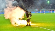 Schock nach Pyro-Eklat in Italien
