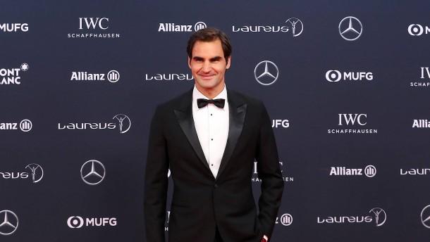 Doppel-Auszeichnung für Roger Federer