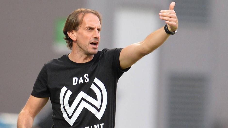 Beziehungsende: Rüdiger Rehm und der  SV Wehen Wiesbaden gehen getrennte Weg