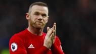 Um Manchesters Star Rooney gab es zuletzt einigen Wirbel.