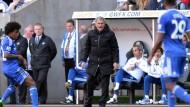 Erste Heimniederlage in der Premier League: José Mourinho und Chelsea müssen nach dem 1:2 gegen Sunderland den Meistertitel abschreiben