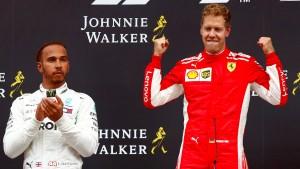 """""""Vettel rafft Hamilton mit seinem Supermotor hin"""""""