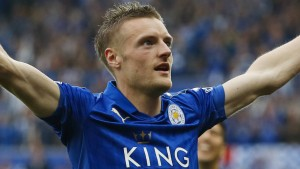 Vardy-Show bei Leicesters Titel-Party
