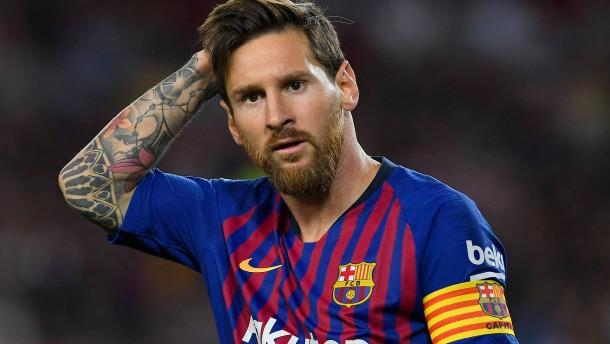 Warten auf Lionel Messi