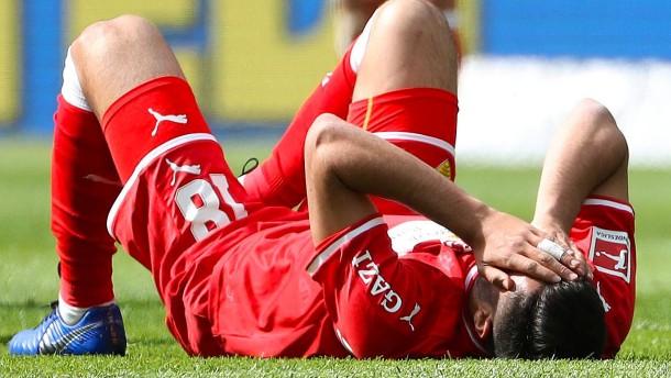 Stuttgart kurz vor der Relegation