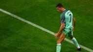 Nicht zu ertragen: Der arrogante Selbstdarsteller Ronaldo.