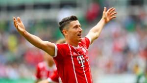 Bayern geduldig, Thomas Müller ungeduldig