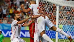 Tunesiens erster WM-Sieg seit 40 Jahren