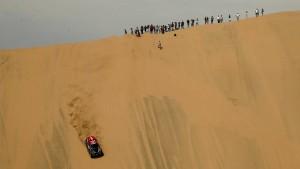Die Rallye Dakar schrumpft immer weiter