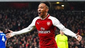 Aubameyang trifft bei Arsenal-Debüt