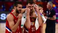 Serbien und Russland im Halbfinale