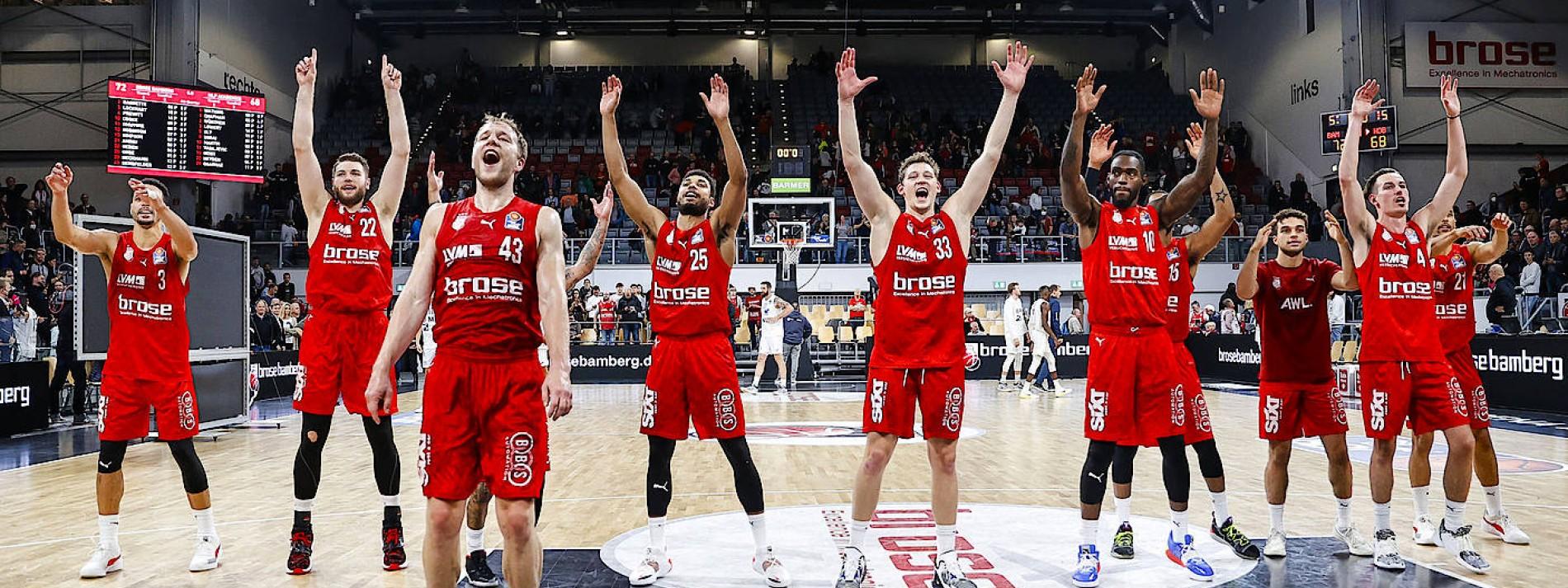 Bamberg ist neuer Tabellenführer