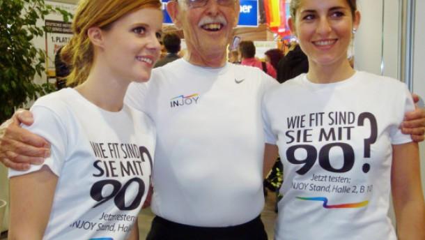 Der fitteste Senior der Welt