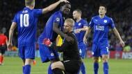 Leicester City an der Spitze
