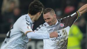 Verhoek schießt St. Pauli zum Sieg
