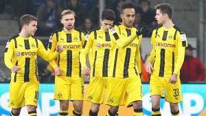 Dortmund holt in Unterzahl einen Punkt