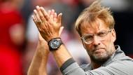 So lässt sich starten: Jürgen Klopp und der FC Liverpool siegen 4:0.