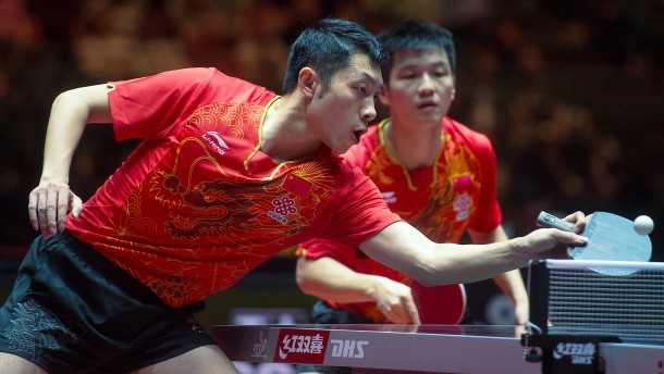 Chinas Ping-Pong-Rebellen spielen bei German Open mit