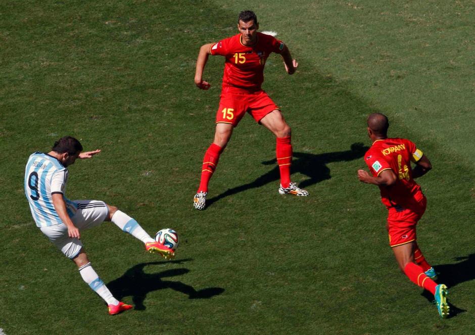 Nicht nur Messi: Auch Higuaín ist Teil der erstklassigen, argentinischen Offensive