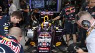 Sie werkeln so vor sich rum: Wo bleibt bei Red Bull der Teamgeist?