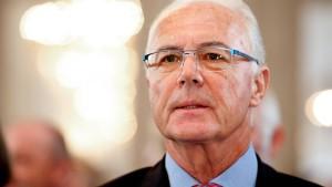 Sportbotschafter Beckenbauer