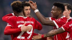 Bayern-Schützenfest nach Fehlstart
