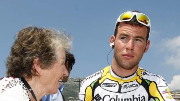 Cavendish gewinnt zweite Etappe